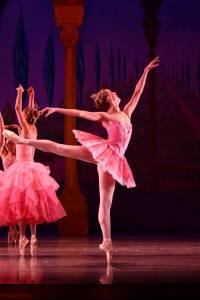 Principal dancer Angela Gibson as Dew Drop in the Nutcracker.